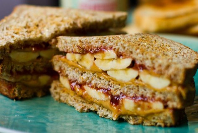 Fruits And Nuts Sandwiches