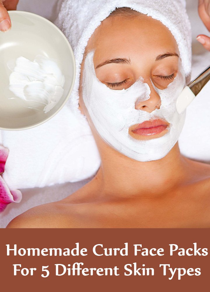 Homemade Curd Face Packs
