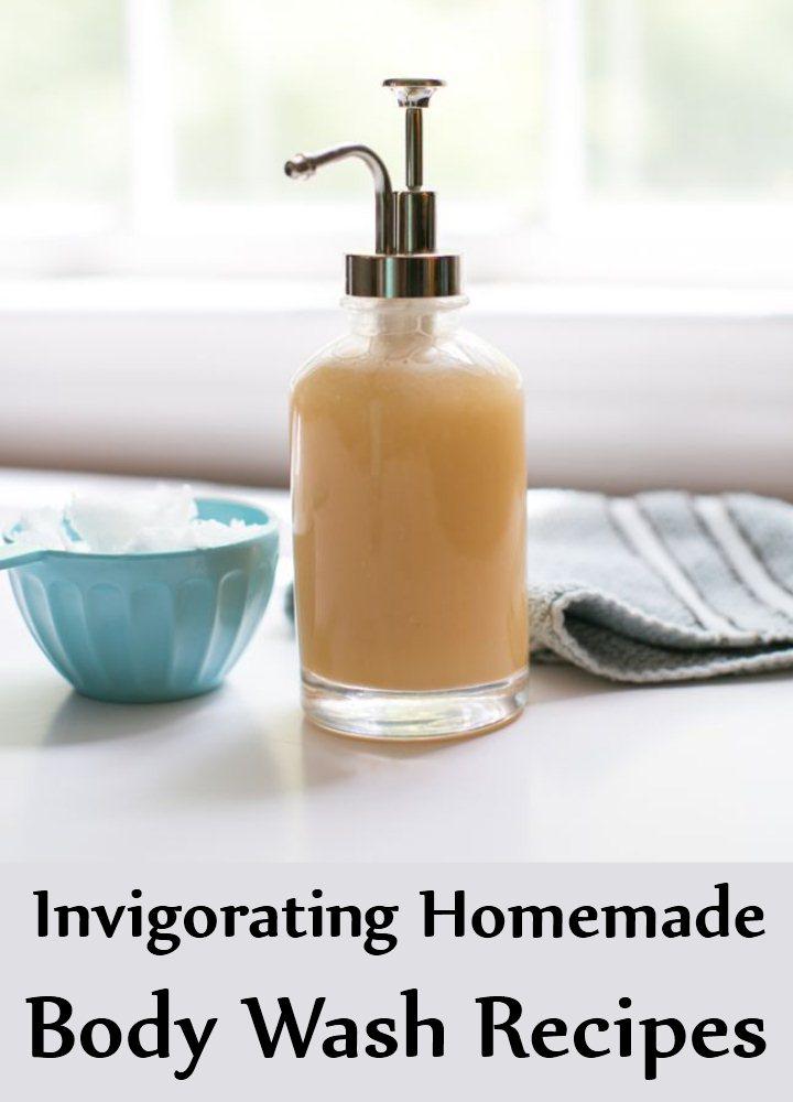 5 Invigorating Homemade Body Wash Recipes