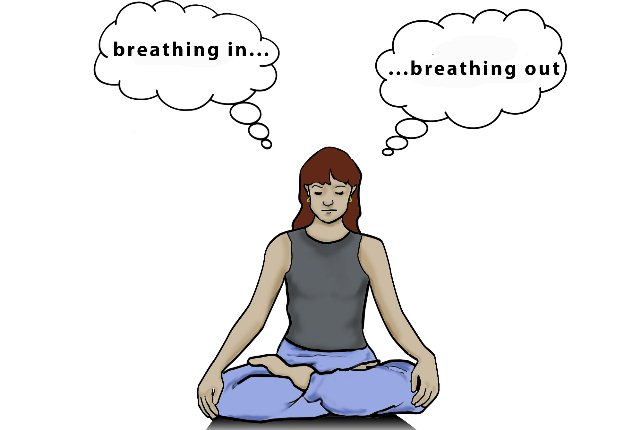 Notice The Movement Of Your Breaths While Meditating For Boosting Concentration