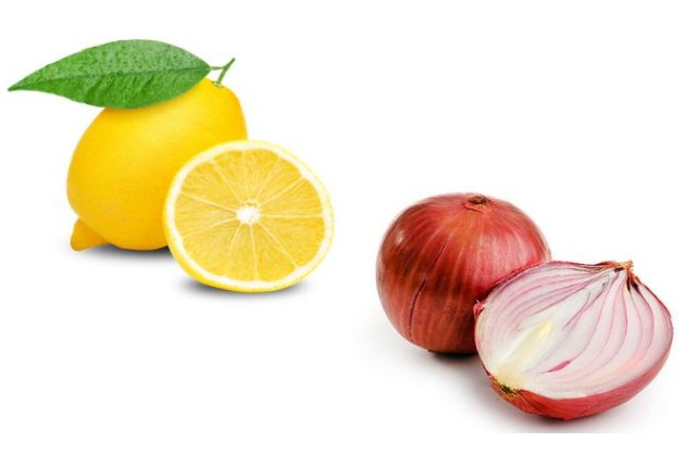 Onion Juice And Lemon Hair Mask