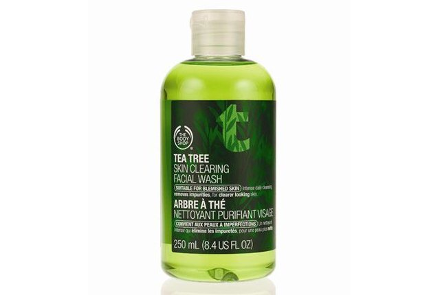Tea Tree Skin Cleansing Facial Wash by Body Shop