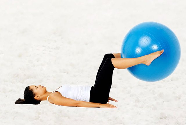 The Inner Thigh Ball Exercise