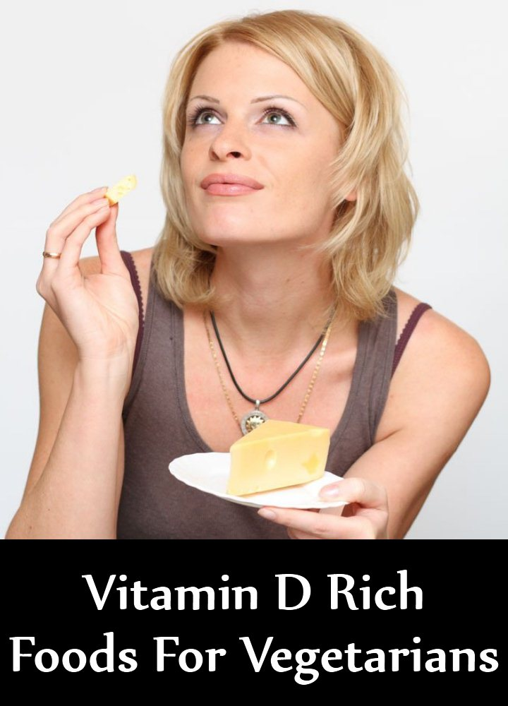 5 Vitamin D Rich Foods For Vegetarians
