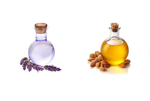 Almond Oil With Lavender Oil