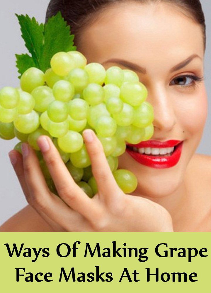 Easy Ways Of Making Grape Face Masks At Home