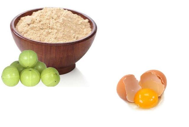 Indian Gooseberry Powder And Egg Pack