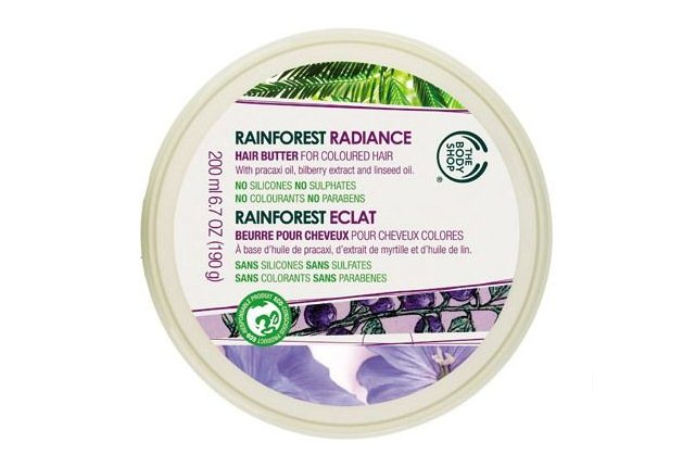 The Body Shop Rainforest Radiance Hair Butter