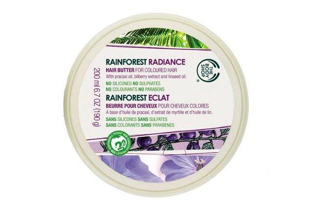 The Body Shop Rainforest Radiance Hair Butter