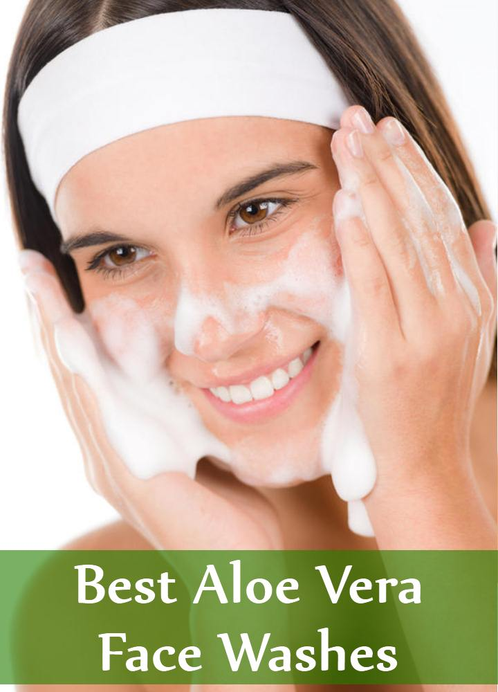 Aloe Vera Face Washes