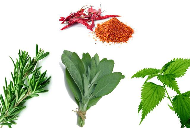 Cayenne Pepper With Rosemary, Sage And Nettle