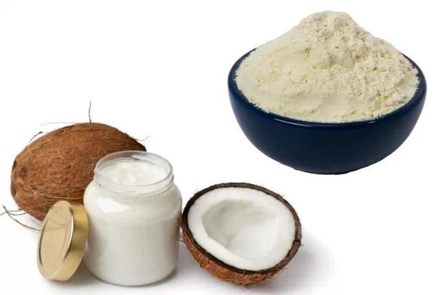 Coconut Oil And Gram Flour