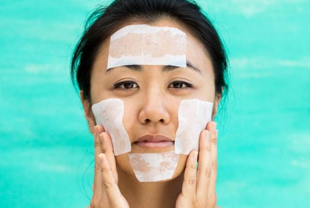 Egg White And Cotton Sheet Peel Off Mask