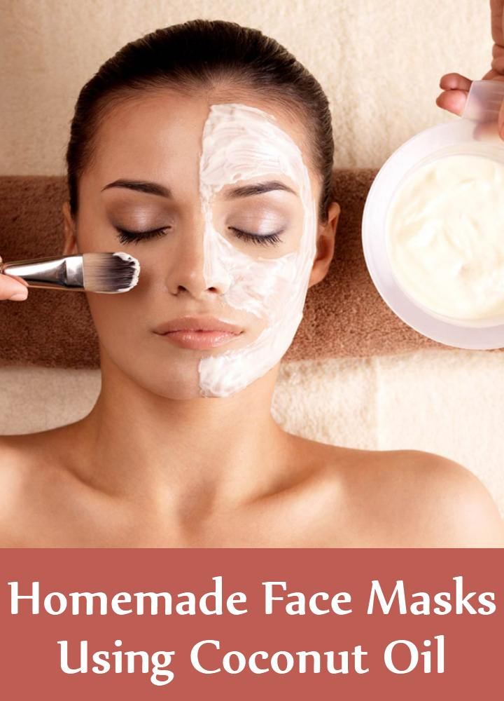 5 Superb Homemade Face Masks Using Coconut Oil
