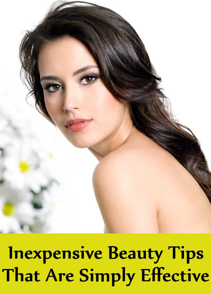 5 Inexpensive Beauty Tips That Are Simply Effective