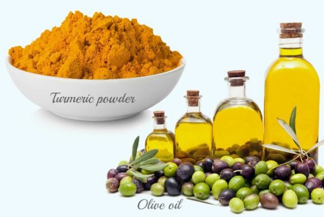 Olive Oil Turmeric Mask