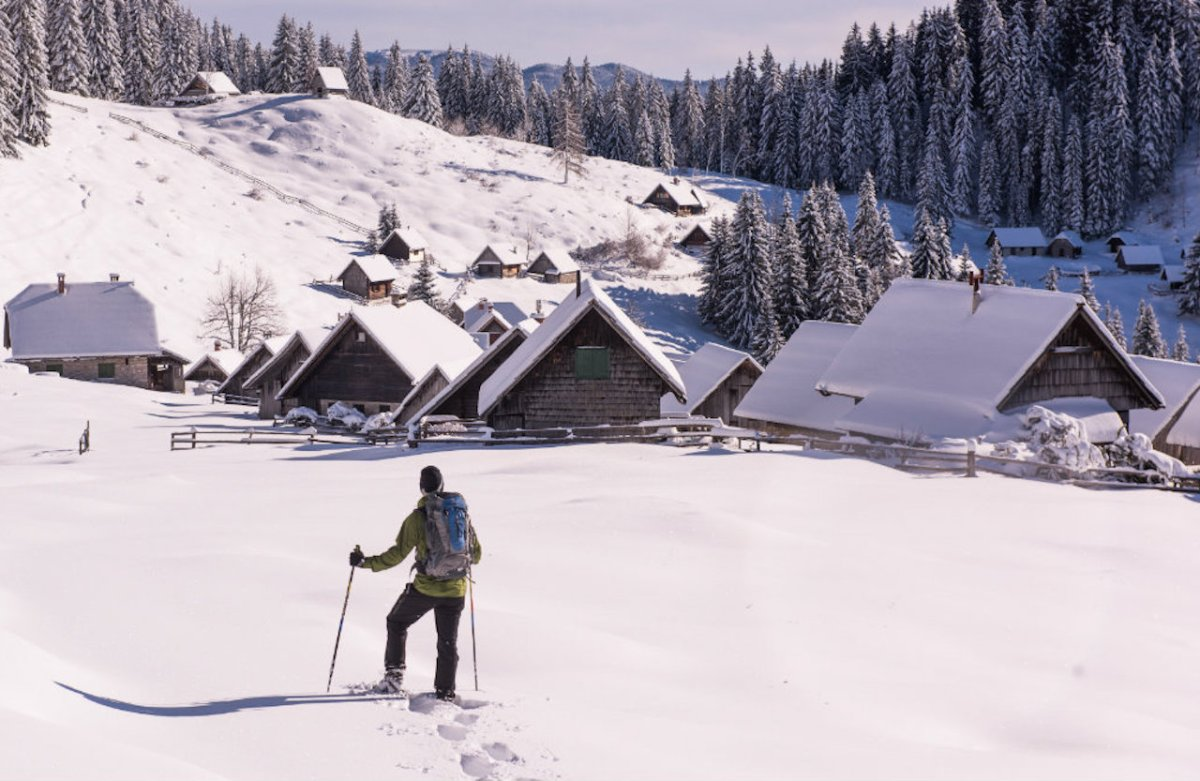Unforgettable Adventures on Snow and Ice  in Slovenia's Winter Wonderland