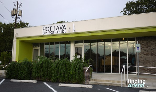 Hot Lava Obstacle Course