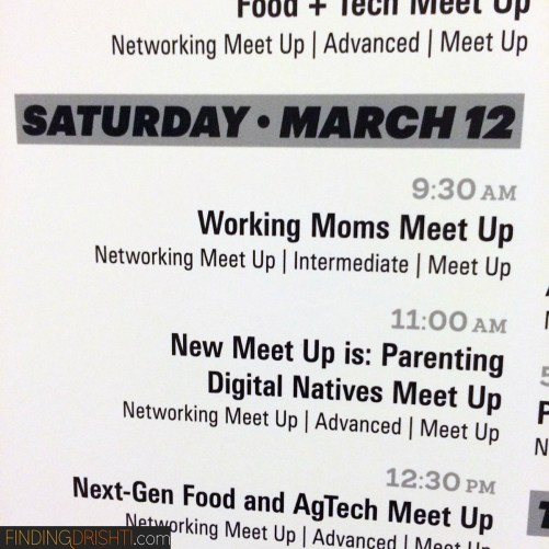 #SXWorkMoms Meet Up was a success!