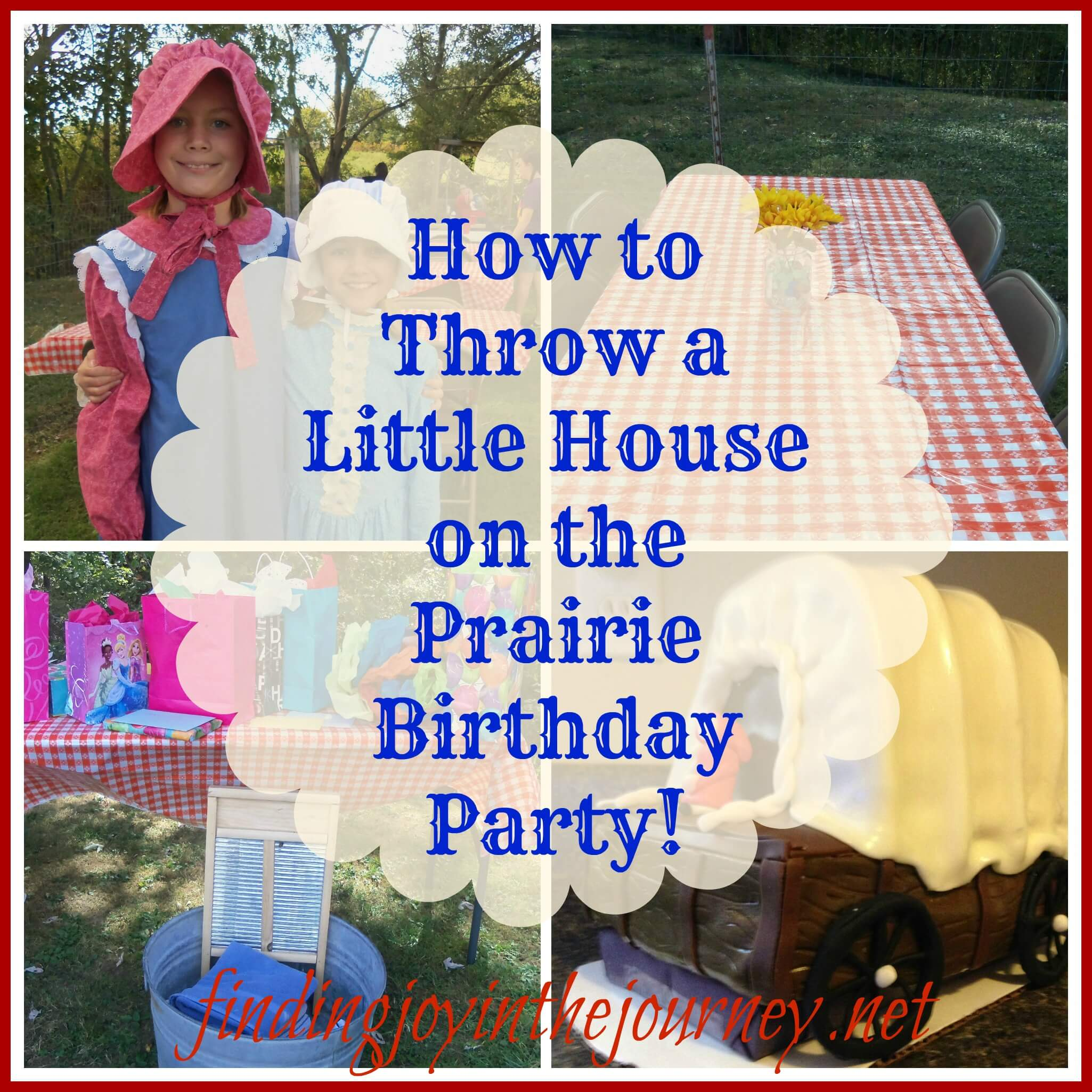 How To Throw A Little House Birthday Party