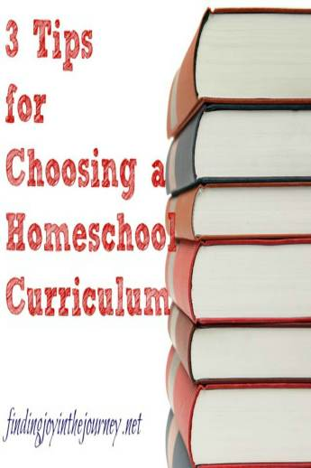 3 Tips for Choosing a homeschool curriculum   Choosing a homeschool curriculum is one of the best (and worst) parts of homeschooling. Here are 3 tips that are vital to choosing a homeschool curriculum