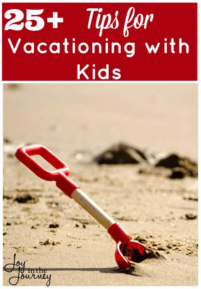 Vacationing with kids takes a lot of preparation. So, here are some tips from moms that can make vacationing with kids a little bit easier.