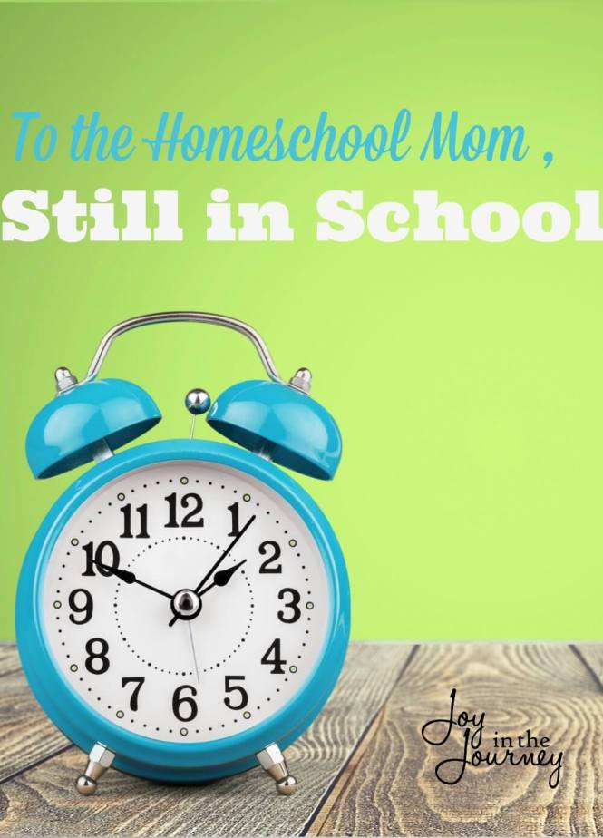 To the homeschool mom still in school, Here it is, June 1st. Public schools are letting out, your homeschool friends are out and you're still in school. It stinks I know. I am right there with ya!