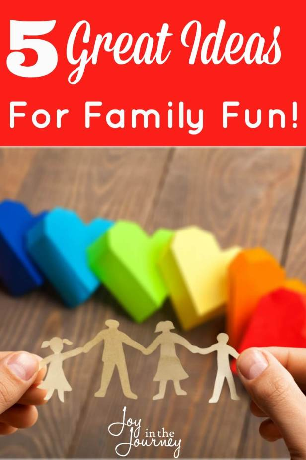 Making time for family is SO important.Family fun doesn't have to be expensive. The KEY to family fun is one word. FAMILY!
