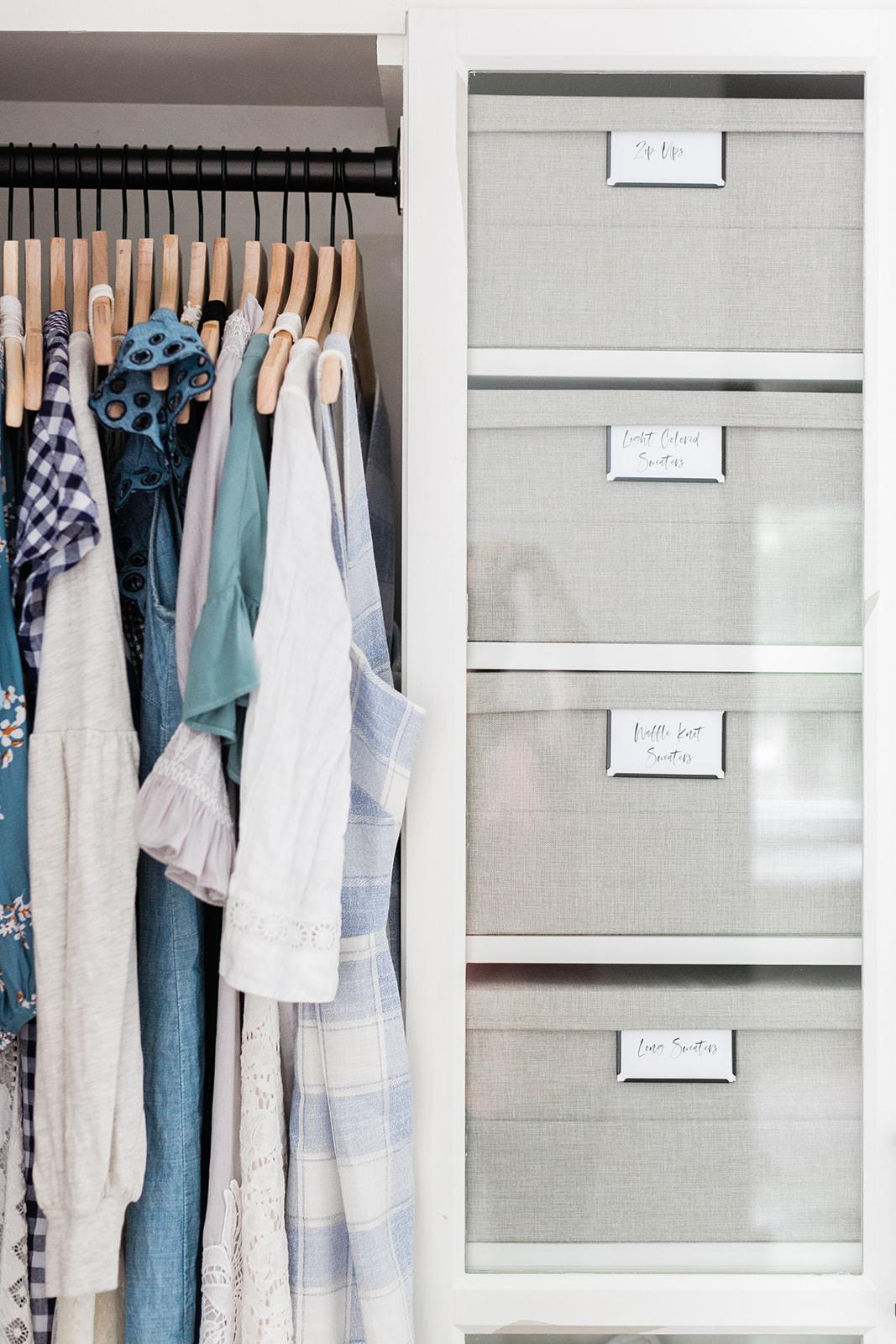 Master Closet Reveal Finding Lovely