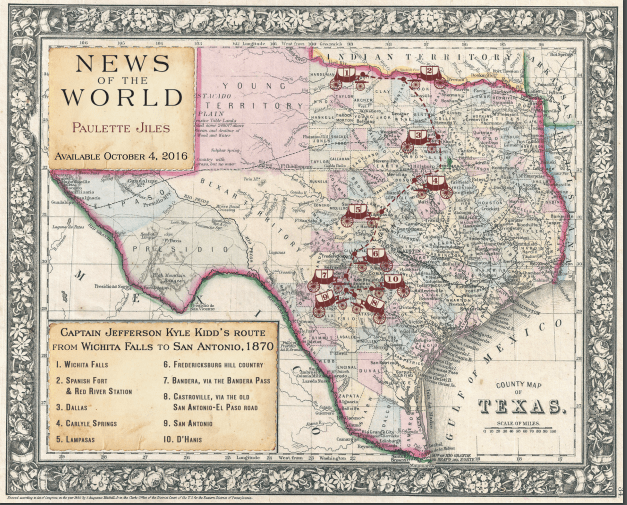 1870 Map Of Texas.Texas 1870 In News Of The World Finding My Wings