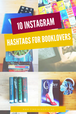 10 instargam hashtags for booklovers