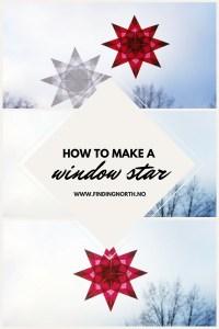 instructions christmas star