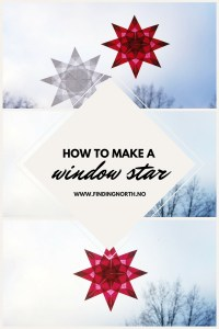 instructions christmas star