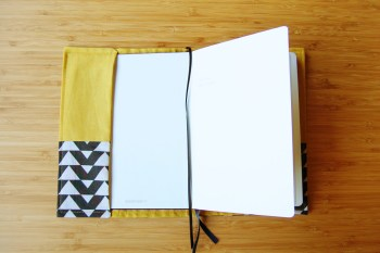 Bullet Journal with handmade cover by FindingNorth