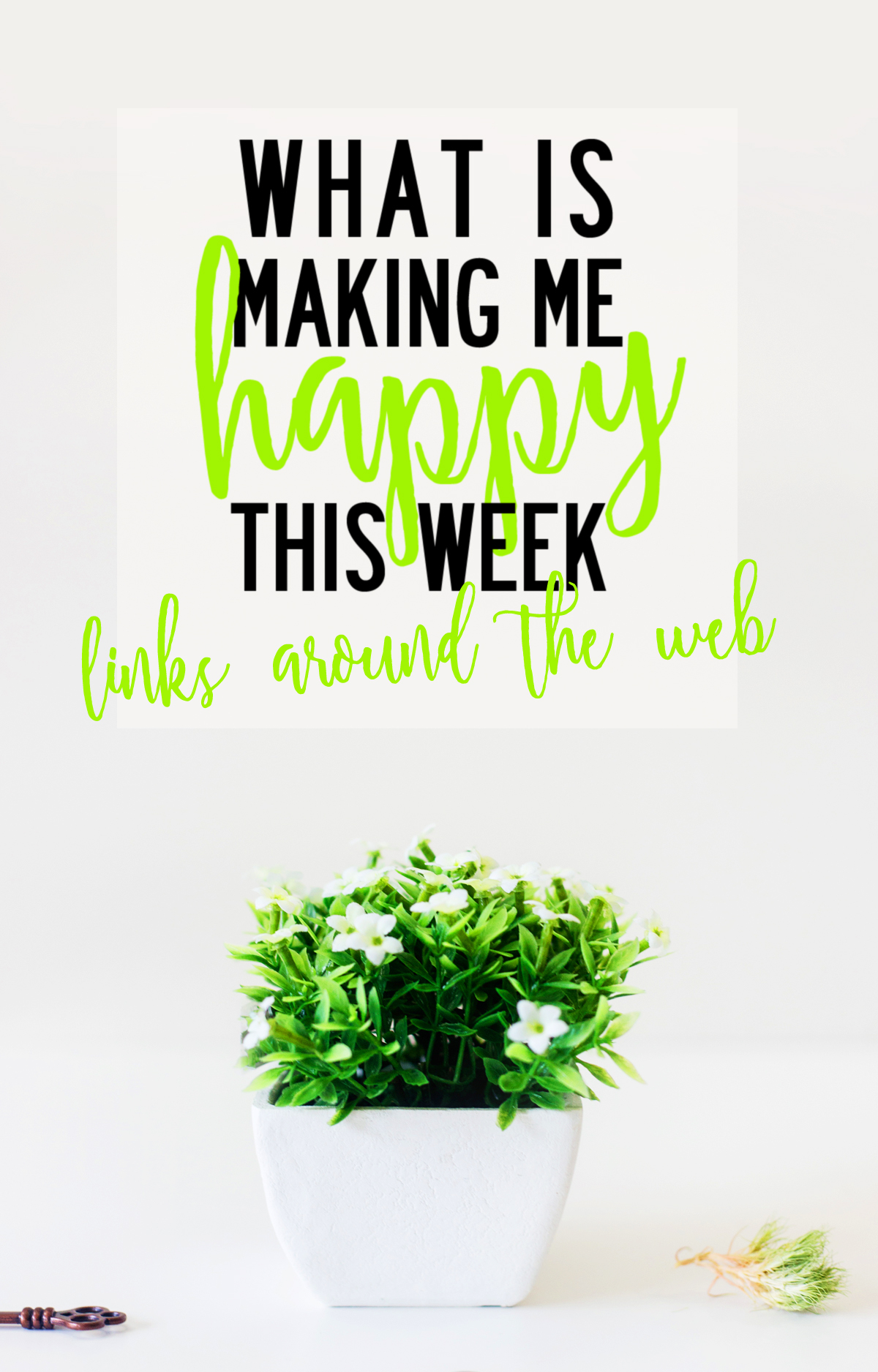 What is making me happy this week. Links around the web from FindingNorth