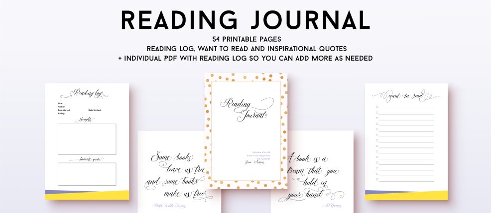 Reading Journal - Elegant and practical