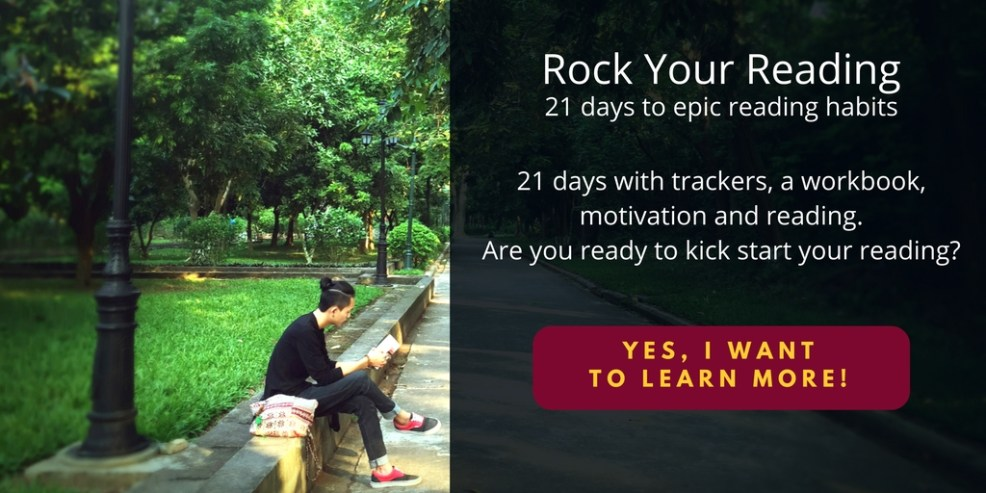 Rock Your Reading challenge - 21 days to epic reading habits