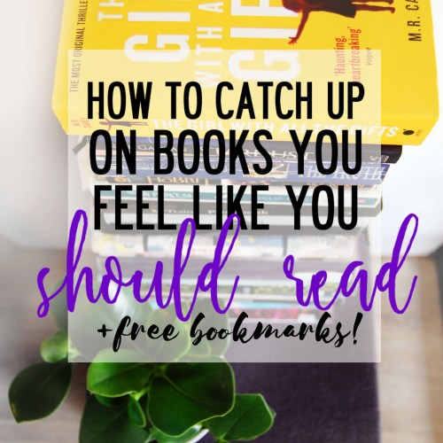 How to catch up on books you feel like you should read