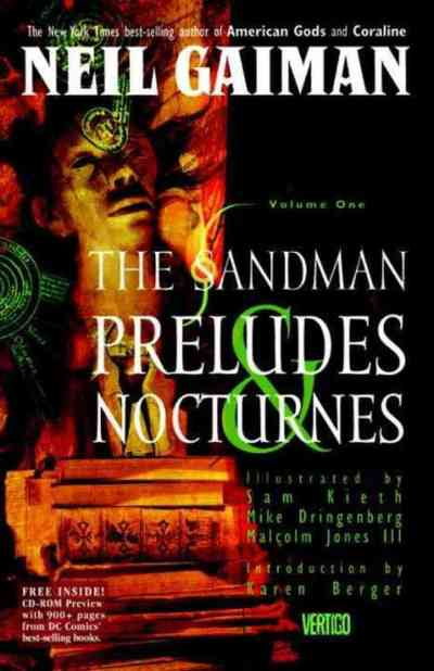 Read something new with 25 books in 8 different genres - Sandman