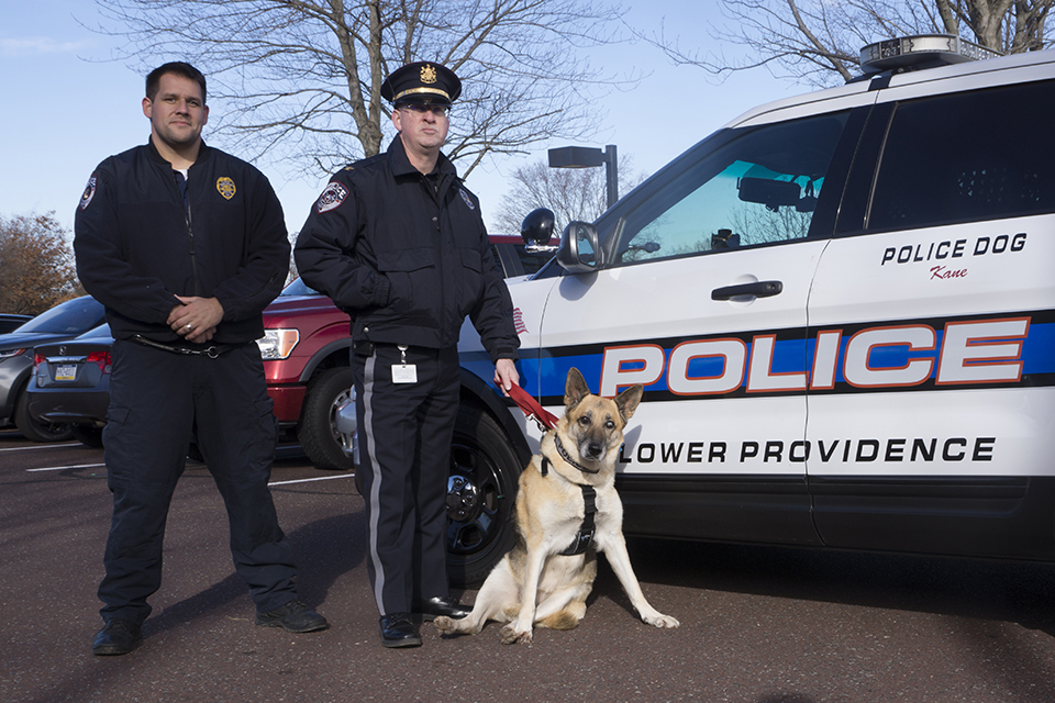 Victoria as K9 for a day thanks to the Lower Providence Police Department!