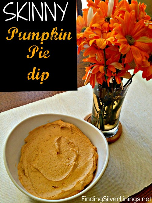 Fat Free Pumpkin Pie Dip