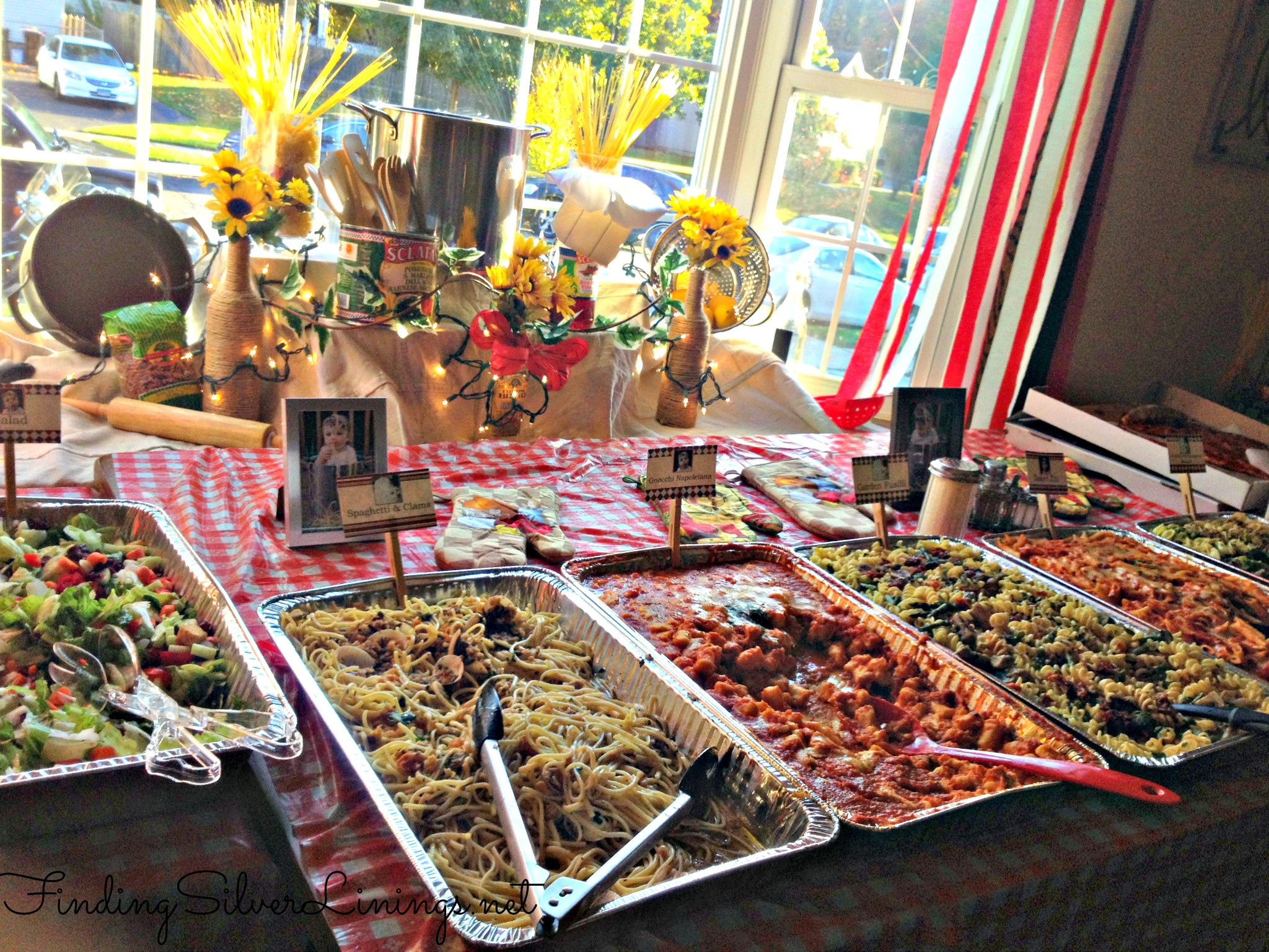 Max's Italian Themed Birthday Party | Finding Silver Linings