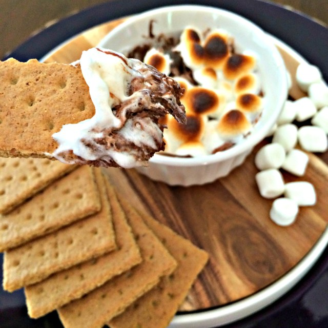 Nutella s'mores dip.  Oh wow.