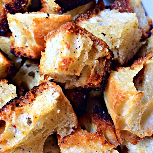 The best home made crouton recipe ever.