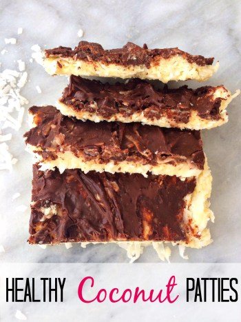 Healthy protein packed coconut patties!