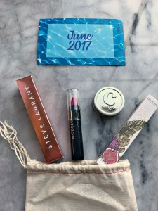 lip monthly june 2017 bag