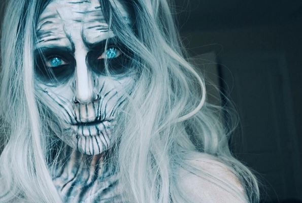 2017 Halloween makeup
