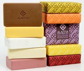 Triple milled shea butter soaps