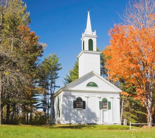 Churches — New England