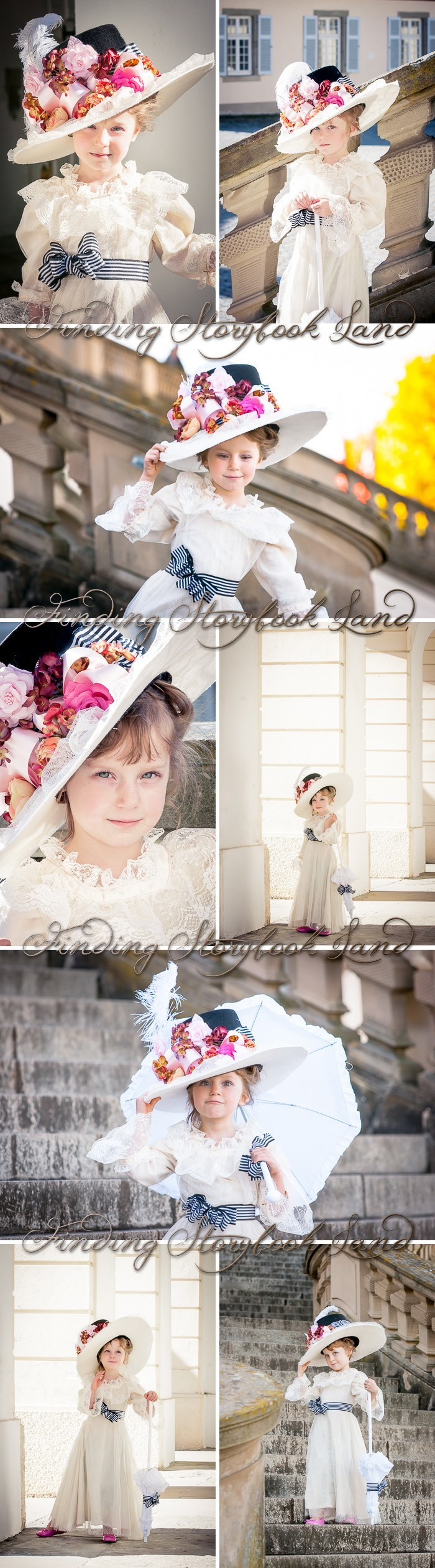 A photo shoot tutorial for how to create a My Fair Lady themed stylized photo session